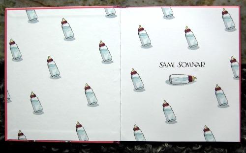 flaskboken, Sami somnar