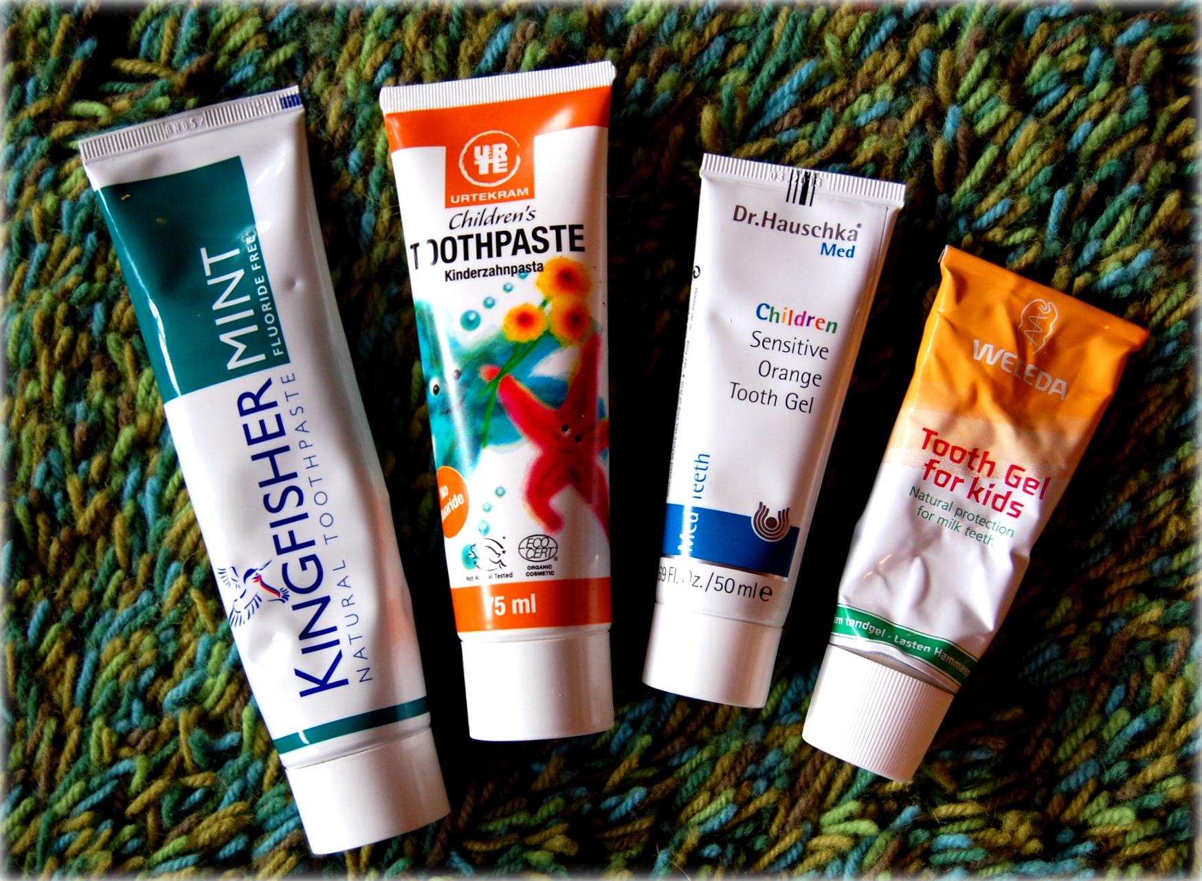 tandkräm märkning färg