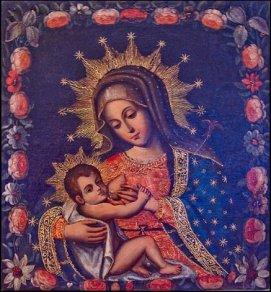 Madonnan och jesusbarnet